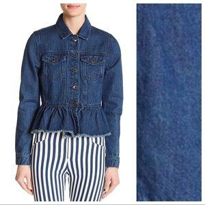 NWT. Romeo & Juliet Couture Denim Jacket. Size S.
